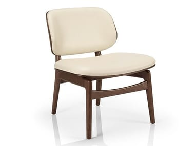 Cadeira lounge de pele CHLOE M935 WUU