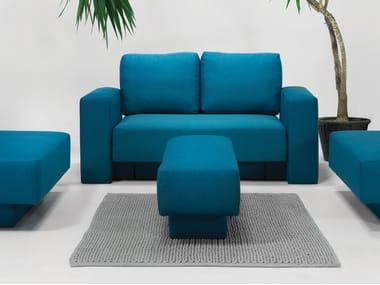 Canapé 2 places avec revêtement amovible CHOICE | Canapé 2 places