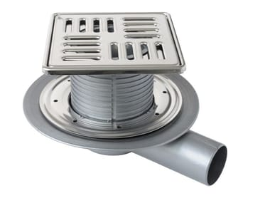 Manhole cover and grille for plumbing and drainage system CHPPF15IN