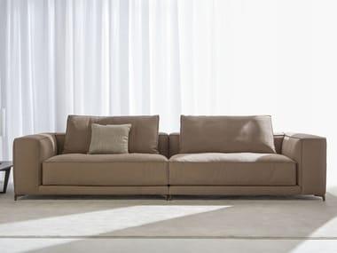 4 seater leather sofa CHRISTIAN | 4 seater sofa