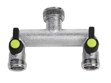 Brass garden tap CHROMED TAP 469
