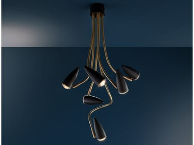 LED swivel pendant lamp CICLOITALIA FLEX C6
