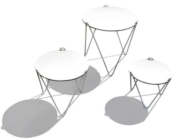 HPL garden side table CIRCUS