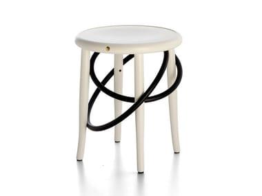 Wooden stool CIRQUE | Stool