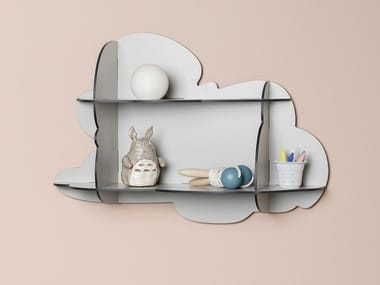 Laminate bookcase / wall shelf CIRRUS