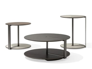 Round metal coffee table CLAMP