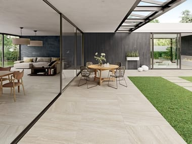Indoor/outdoor wall/floor tiles with stone effect CLASH SOUL