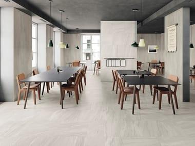 Pavimento/rivestimento effetto pietra per interni ed esterni CLASH SPIRIT