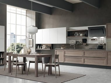 Linear fitted kitchen CLASS   Kitchen