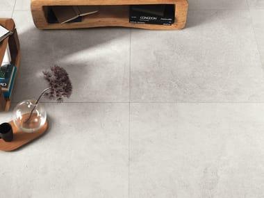Pavimento/rivestimento antibatterico effetto pietra CLIFFSTONE WHITE DOVER