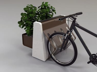 Flower pot / Bicycle rack CLING