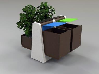 Flower pot / litter bin CLING