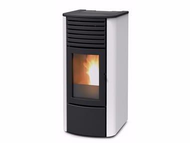 Pellet metal Heating stove CLIO