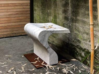 Marble seat CLIZIA
