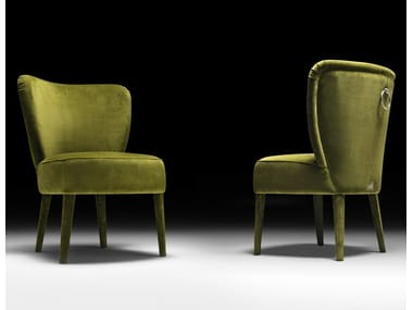 Fabric easy chair CLOÈ | Fabric easy chair