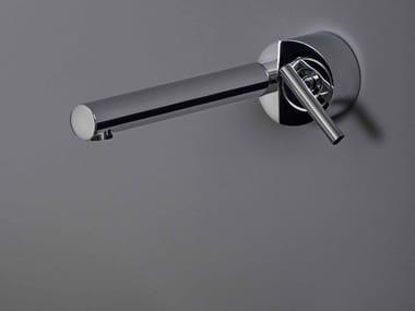 Miscelatore per lavabo a muro monoforo in ottone cromato CLOSER   Miscelatore per lavabo a muro