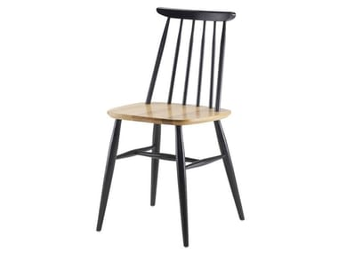Open back solid wood chair CLOYD | Chair