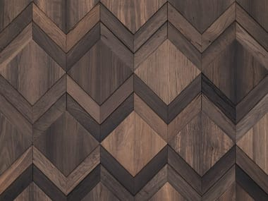 Indoor wooden 3D Wall Cladding CLUE
