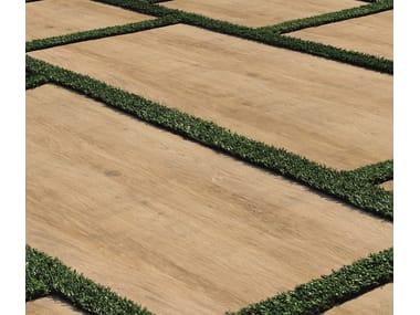 Pavimento per esterni effetto legno cm2 LEGNI HIGH TECH│ ROVERE BRICCOLA