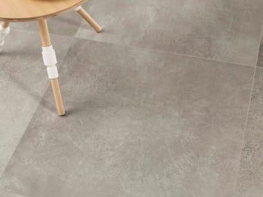 Pavimento per esterni in gres porcellanato effetto pietra CM2 MATERIE HIGH-TECH - CENERE