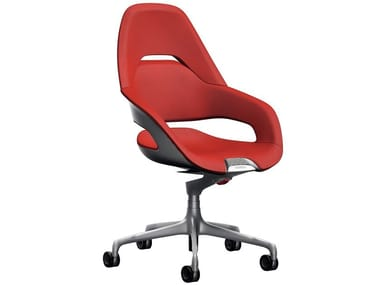 Low back office chair with 5-Spoke base COCKPIT | Low back office chair