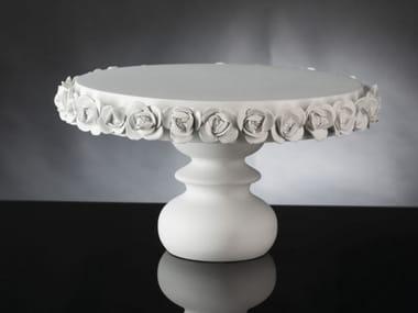 Round ceramic tray COCO | Tray