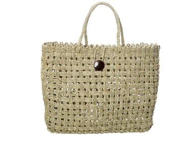 Seagrass bag COCONUT BUTTON