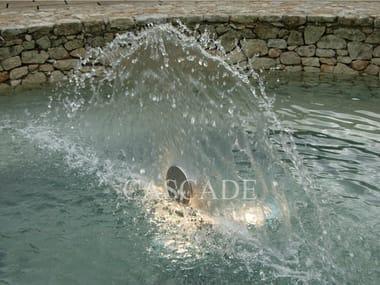 Stainless steel Fountain nozzle CODA DI PAVONE