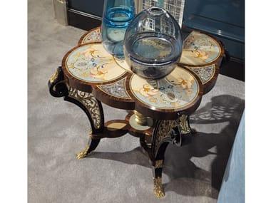 Tavolino alto in legno 5804 | Tavolino