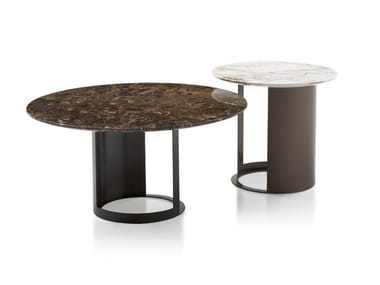 Round marble coffee table CI | Coffee table
