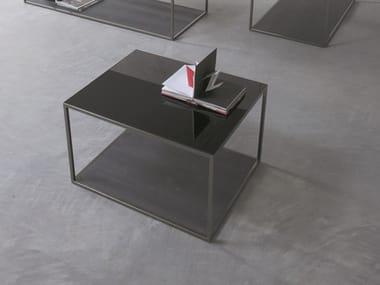 Tavolino da caffè laccato BOX | Tavolino