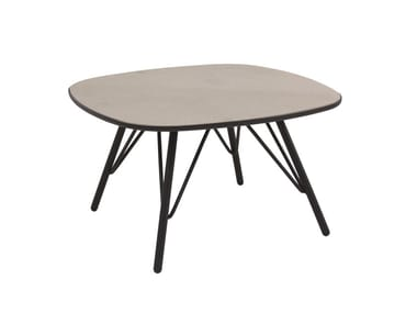 Square garden side table LYZE | Coffee table