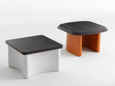 Wooden garden side table GUNA | Coffee table