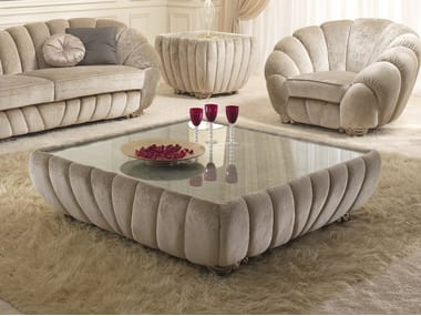 Low Square Coffee Table Pearl