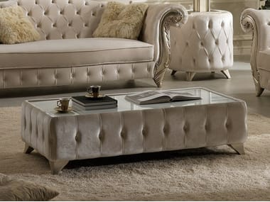 Clic Style Low Fabric Coffee Tables