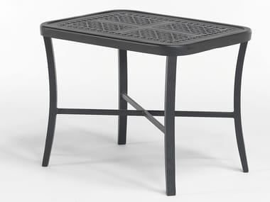 Tavolino da giardino rettangolare in alluminio CENTURIAN | Tavolino