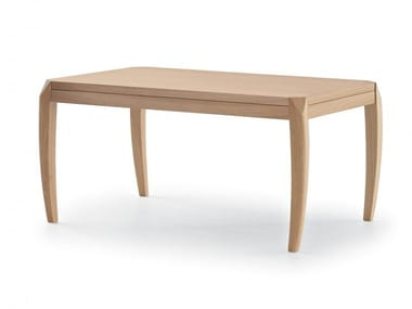 Rectangular wooden coffee table DELPHI | Rectangular coffee table