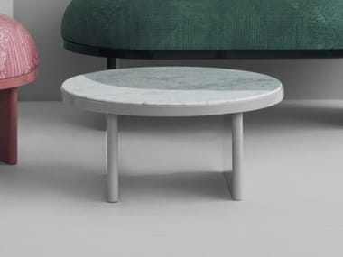 Low round coffee table ANZA | Coffee table