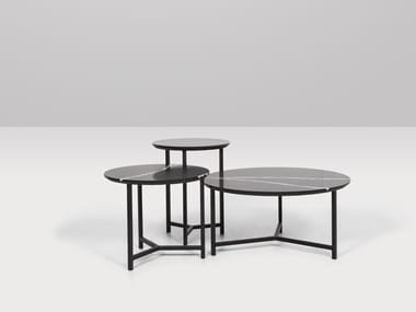 Round quartz coffee table CHICAGO | Coffee table