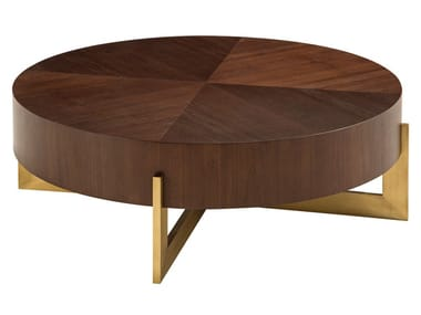 Low round coffee table TROCADERO | Coffee table