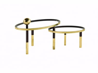 Deco oval coffee table CHRISTIAN LACROIX MAISON | Coffee table