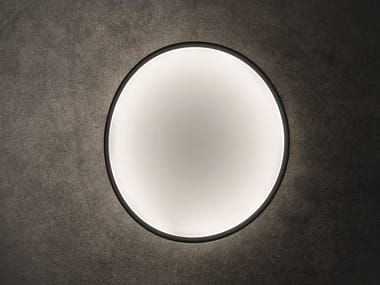 LED technical fabric wall light COLLAPSIBLE MOON | Wall light