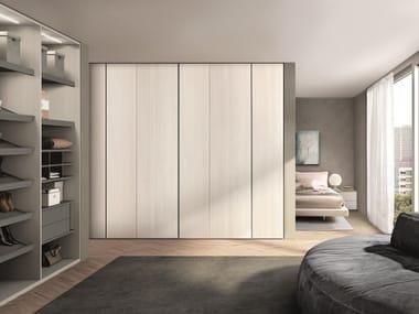Elm wardrobe with drawers COMBI SYSTEM Z755