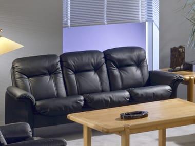 3 seater leather sofa COMMODORE | 3 seater sofa