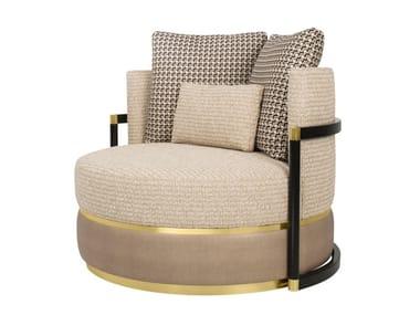 Fabric armchair COMO | Armchair