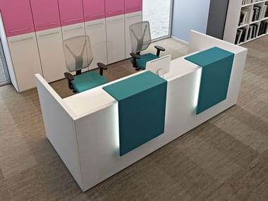 office reception counter. Modular Office Reception Desk COMPACT C18APL Counter