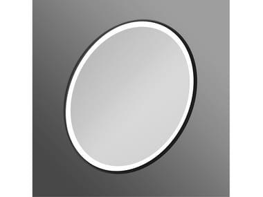 Miroir rond avec éclairage intégré pour salle de bain CONCA - T4133BH