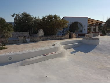Concrete and Cement-Based Materials Pool liner MAXURETHANE POOL