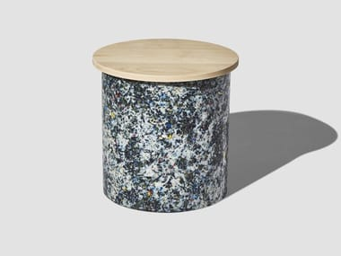Wooden stool CONFETTI | Wooden stool