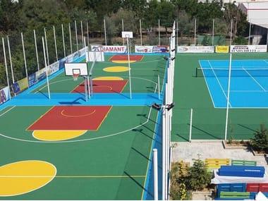 Pavimentazione per campi da tennis e polivalenti CONFOSPORT